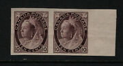 Canada 83a Extra Fine Never Hinged Imperf Pair With Certificate