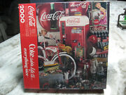 Coca Cola 2000 Piece Springbok Puzzle Coke Adds Life To Everything Nice Sealed