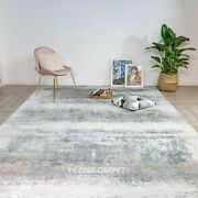 Yilong 7.9and039x11.2and039 Handmade Contemporary Home Decor Carpet Bamboo Silk Rug T003