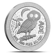 2020 Niue Athena Owl Roll Of 20 Stackable Silver 1 Oz .999 2 Stacker Coins Lot