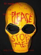 Army Of Two Paintball Airsoft Bb Gun Costume Cosplay Mask Please Stop Me Ma113