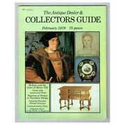 The Antique Dealer And Collectors Guide Magazine February 1979 Mbox2792 Clocks