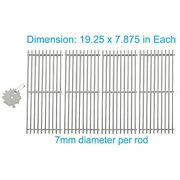 4-pack Stainless Steel Cooking Grids For Turbo Cg4ckw 1pc Ss Cleaner Free Ship