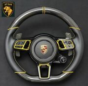 Porsche Cayenne 958 Carbon Steering Wheel Real Carbon Made In Germany