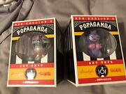 Ron English Popaganda Art Toys Circus Sideshow Grinnin Gaylord And Cassie Cowgirl