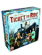 Ticket To Ride - Rails And Sails