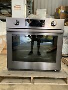 Samsung Nv51m9770sm 30 Chef Collection Single Wall Oven Black Stainless Steel