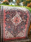 Antique 1890 Fine Qashgai Rug With Great Colors 6and0394 X 4and0393 Amazing