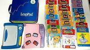 2 Leappad Leap Frog Learning System Reading/writing System,22 Books And Cartirdges