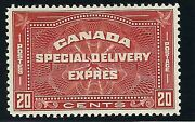 Canada - Cat. Scott E5 - Xfnh - Special Delivery Stamp