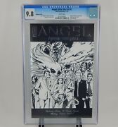 Angel After The Fall 1 - Black And White Wedding Cover Cgc 9.8 Rare