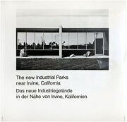 Lewis Baltz / The New Industrial Parks Near Irvine California First Edition 1974