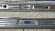 Pair Of Vintage Ford Rocker Panel Carpet Hold Down Strips Auto Parts