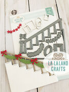 Staircase Die-la-la Land Crafts-marci And Luka Stamps-steel/wafer Thin Die-stair