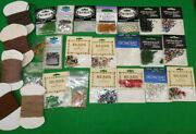 Collection Of Fly Tying Materials Incl Beads, Tubes, Wool Cards And Eyes