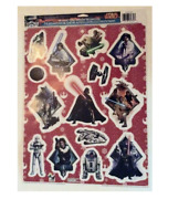 Christmas Official Disney Star Wars Winter Static Cling Window Decorations