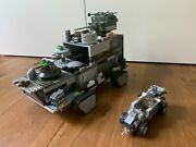 Lego Custom Tank W/ Vehicle Large Armored Vehicle Great Condition Heavily Armed