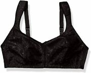 Just My Size Women's Front Close Soft Cup Plus Size Bra 1107