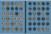 1941-1974 Lincoln Cent Collection-64 Coins-all Unc 50 Are Red Nice Ships Free