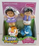 New Fisher-price Disney Princess Jasmine And Friends Buddy Pack Little People Rare