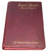 Gospel Hymns 1894 Nos. 1 To 6 Complete, The Christian Herald Edition