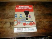 Antique Locomotives Coloring Book Illustrated 1976 Tre Tryckare