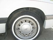 1985 Ford Mustang 14 X 5-1/2 Polycast Wheels / Rims, Caps, Trim Rings