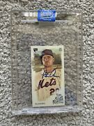 2020 Pete Alonso Topps Archives Signature Series Mini Auto Allen And Ginter 1/1