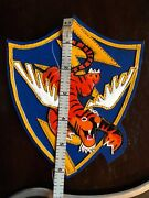 Flying Tigers 4 Item Avg Cbi Layered Leather Patch Hand Painted