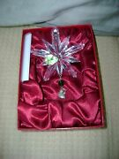 Waterford 2007 12 Days Partridge Crystal Charm Ornament 1st Edsold Out