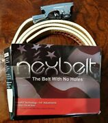 Nexbelt All White 1 + Buckle Listeners Cup French Lick Resort Indiana No Holes