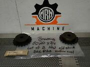Browning 5020 X 3/4 Roller Chain Sprockets 20 Teeth New Old Stock Lot Of 2