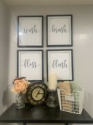 Homemade Laundry Sign Decor In Black 5andrdquox7andrdquo Or 8andrdquox10andrdquo Frames