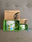 Starbucks You Are Here Collection Yah Seattle Limited 14oz Mug And 2oz Ornament