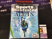 Ryan Lochte Autograph Auto Signed 11x14 Photo Sports Illustrated Cover Jsa 1