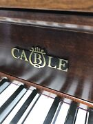 Cable Upright Piano. Great Condition. Beautiful Sound. 1983. Made In The Usa