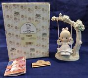 Vtg Precious Moments Figure Figurines 1991 My Warmest Thoughts Are You Enesco