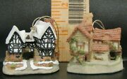 David Winter Cottages Christmas Ornaments 2