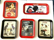 Coca Cola Vintage Trays And Signs Collection