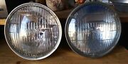 T-3 Guide Sealed Beam Automobile Headlights Lot. Early And Late Genuine 1960-1971