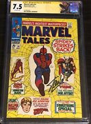 Marvel Tales 14 Cgc 7.5 Ss Stan Lee Spider-man Cover Label Thor - 1 Of 3 Exist