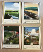 New Rare Lot Of 4 Norfolk Southern Railroad Posters Safety Trips 2014