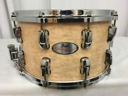 Pearl Reference 14 Diameter X 8 Deep Snare Drum/natural Birdseye Maple/807