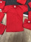 Vintage Russell Athletic Gold Tag T Shirt Size Boys Large Lot Of 10 Rare Cotton