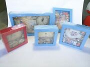 4th Of July Independent Independence Day Picture Frames Clock