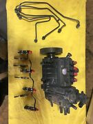 Kubota V3300 Fuel Injection Pump Base Diesel Engine Tractor M9000 With Injector