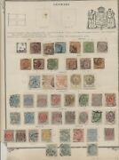 Early Denmark And Danish West Indies On Album Pages Used Scott 6092.00