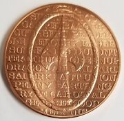 Cia Oss Office Of Strategic Services Congressional Copper Medal Service Coin