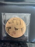 1969 Israel Gold 100 Lirot Shalom. In Great Condition In Case.