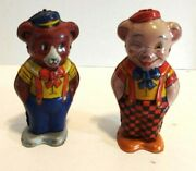 J. Chein And Co. Wind-up Bear And Pig